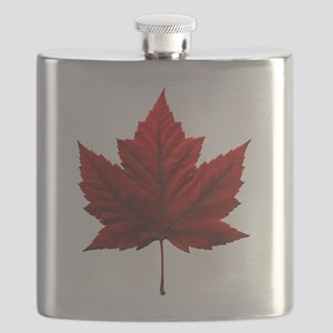 Canada Maple Leaf Souvenir Flask