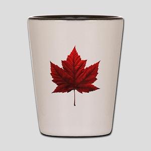 Canada Maple Leaf Souvenir Shot Glass