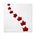 Canada Maple Leaf Souvenir Queen Duvet