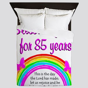 85TH RAINBOW Queen Duvet