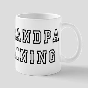 New Grandpa In Training Mug