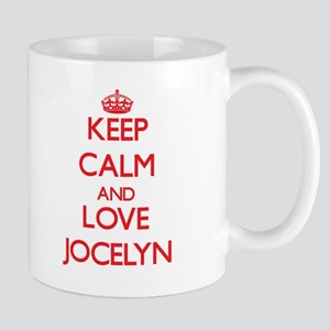 Keep Calm and Love Jocelyn Mugs