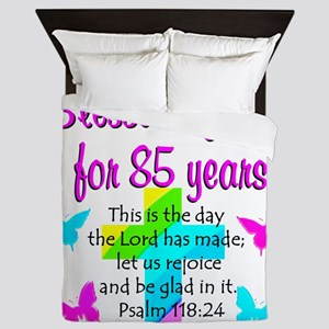 85th LOVE GOD Queen Duvet