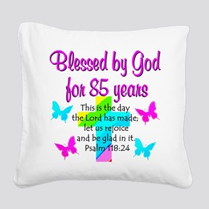 85th LOVE GOD Square Canvas Pillow