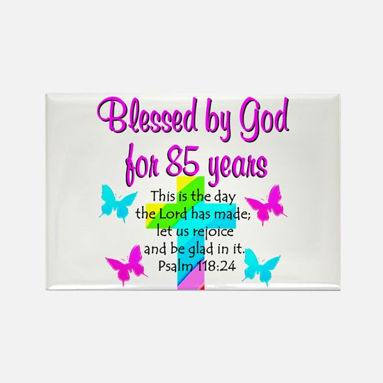 85th LOVE GOD Rectangle Magnet