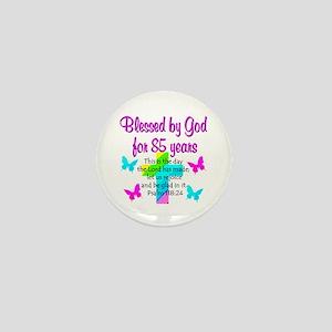 85th LOVE GOD Mini Button