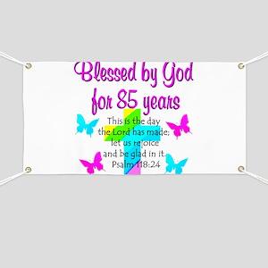 85th LOVE GOD Banner