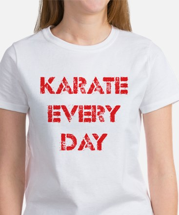 Karate Every Day Women's T-Shirt