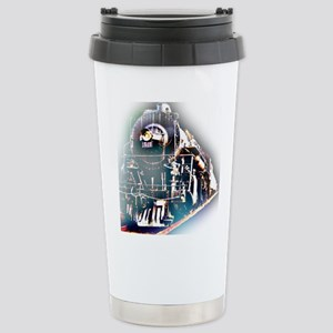 Train Square Travel Mug