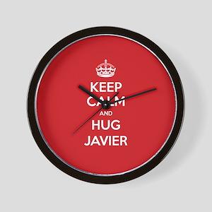 Hug Javier Wall Clock