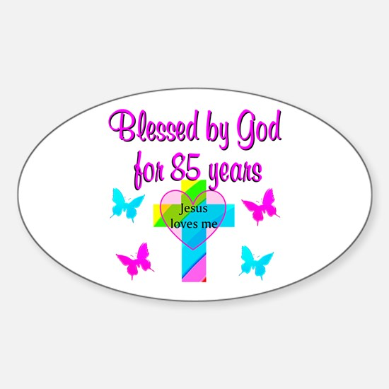 85TH CHRISTIAN Sticker (Oval)