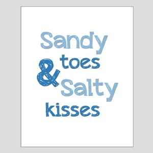 Sandy Toes Salty Kisses Posters