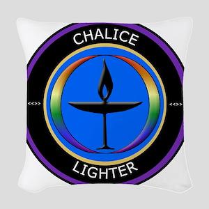 Chalice Woven Throw Pillow