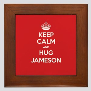 Hug Jameson Framed Tile