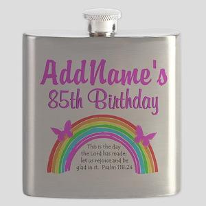85TH PRAISE GOD Flask