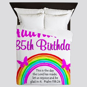 85TH PRAISE GOD Queen Duvet