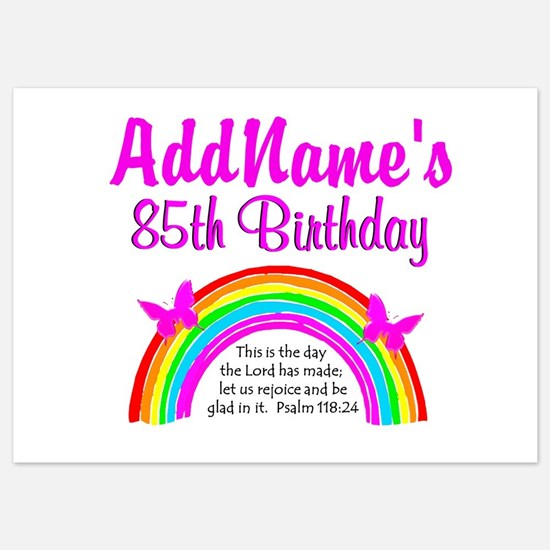 Invitations for 10 year old birthday party 10 year old birthday 85th praise god invitations filmwisefo Choice Image