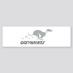Greyhounds Sticker (Bumper)