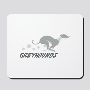 Greyhounds Mousepad