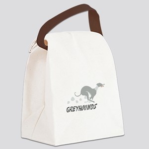 Greyhounds Canvas Lunch Bag
