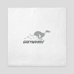 Greyhounds Queen Duvet
