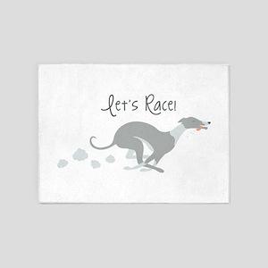 Lets Race 5'x7'Area Rug