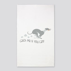 Catch Me If You Can! 3'x5' Area Rug