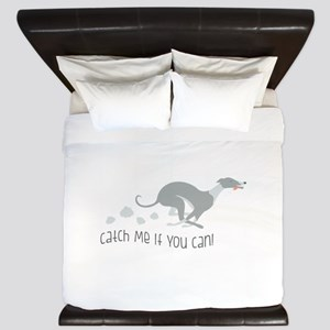 Catch Me If You Can! King Duvet