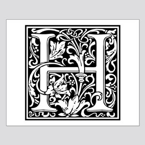 Decorative Letter H Posters