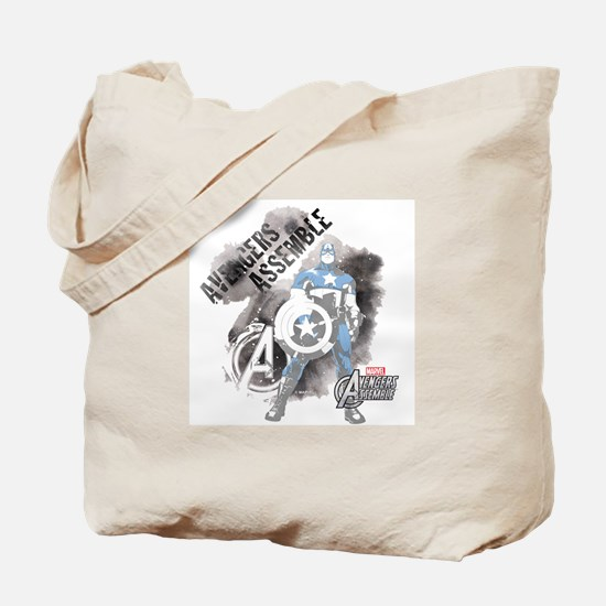 Avengers Assemble Watercolor Tote Bag