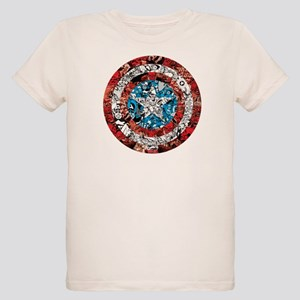 Shield Collage Organic Kids T-Shirt