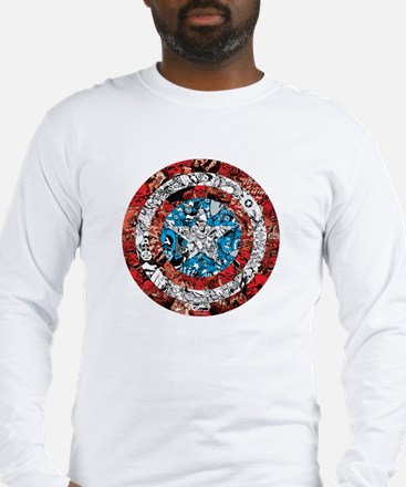 Shield Collage Long Sleeve T-Shirt