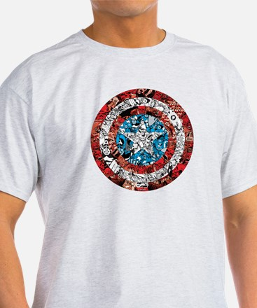 Shield Collage T-Shirt