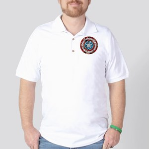 Shield Collage Golf Shirt