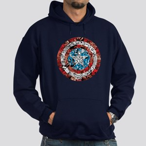 Shield Collage Hoodie (dark)