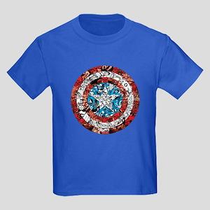 Shield Collage Kids Dark T-Shirt