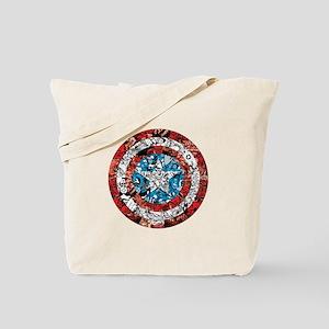 Shield Collage Tote Bag
