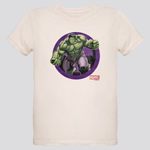 The Hulk Badge Organic Kids T-Shirt