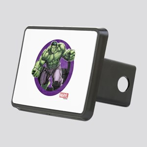 The Hulk Badge Rectangular Hitch Cover