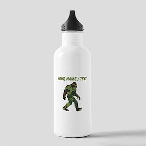 Custom Camo Bigfoot Water Bottle