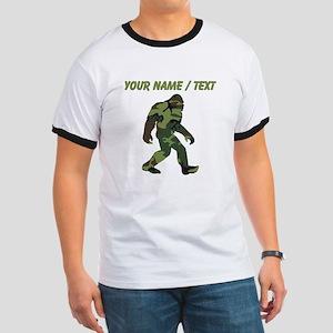 Custom Camo Bigfoot T-Shirt