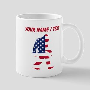 Custom American Bigfoot Mugs