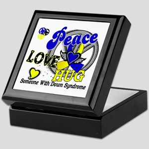 DS Peace Love Hug 2 Keepsake Box
