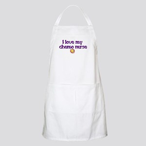 CANCER AWARENESS PURPLE GIFTS BBQ Apron