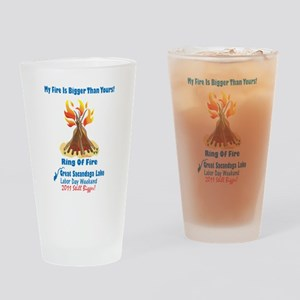 Ring Of Fire 2011 Drinking Glass