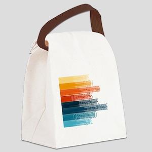Spiritual Principles Canvas Lunch Bag