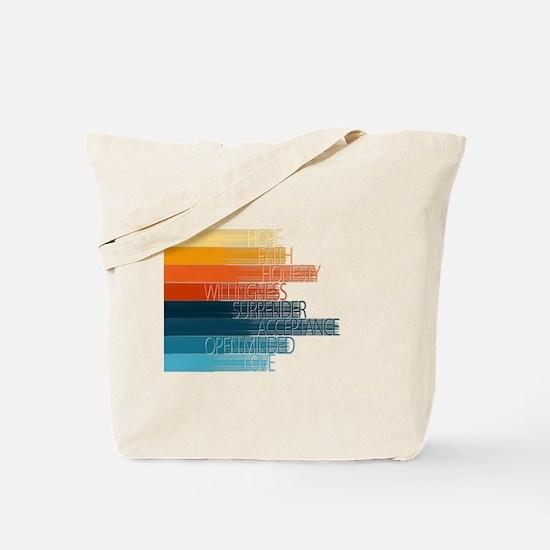 Spiritual Principles Tote Bag