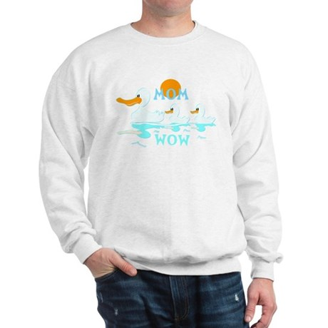 MOM WOW Reflection Mothers Day Sweatshirt