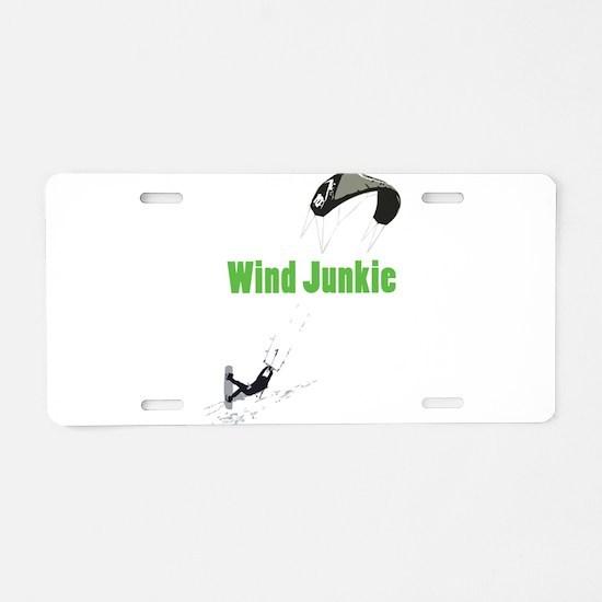 Cute Wind power Aluminum License Plate