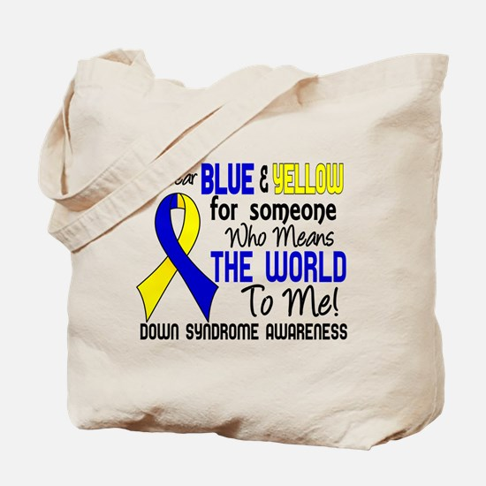 DS Means World to Me 2 Tote Bag